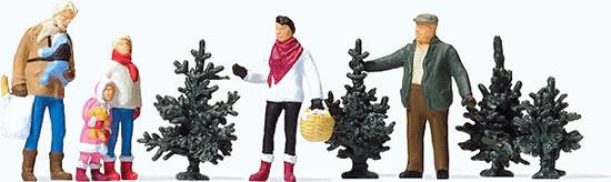 Preiser 10627 - Christmas tree sales