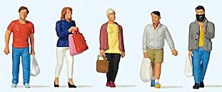 Preiser 10673 - Shopping