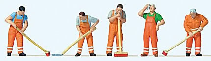 Preiser 10713 - Street Cleaning