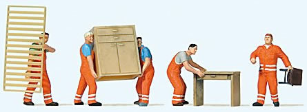 Preiser 10714 - Furniture Clearance