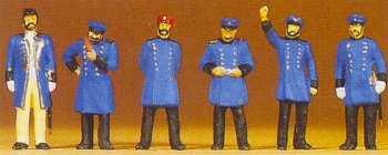 Preiser 12130 - RR Personnel Prussian