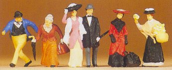 Preiser 12138 - 1900s travelers