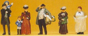 Preiser 12176 - 1900s passers-by