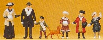 Preiser 12184 - 1900s pass/winter cloths