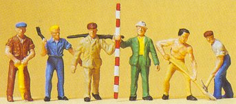 Preiser 14030 - Road workers           6/