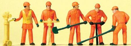 Preiser 14035 - Track Workers 5/