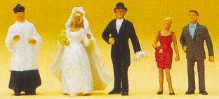 Preiser 14058 - Wedding group catholic