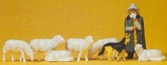 Preiser 14160 - Shepherd w/sheep