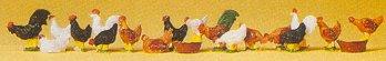 Preiser 14168 - Chickens              18/