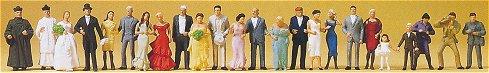 Preiser 14415 - Wedding Guests 24/