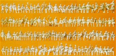 Preiser 16328 - Figures asst unpntd  120/