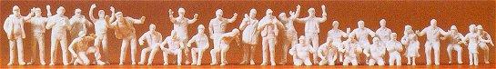Preiser 16335 - Figures asst unpntd   24/