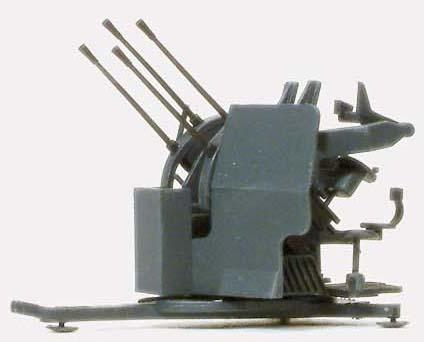 Preiser 16582 - 2cm Flakvierling 38 w/Trl