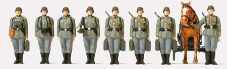 Preiser 16585 - Infantry Riflemen 9/