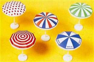 Preiser 17209 - Garden umbrellas       5/