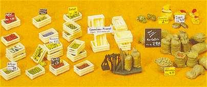 Preiser 17501 - Fruit & vegetable boxes
