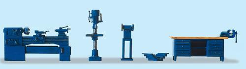 Preiser 17706 - Workshop Equipment