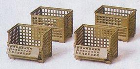 Preiser 18363 - Steel storage baskets