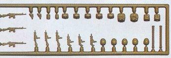 Preiser 18365 - Mltry wpns/gr set 3 mdrn