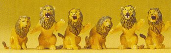 Preiser 20381 - Performing lions       3/