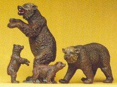 Preiser 20386 - Brown bears            4/