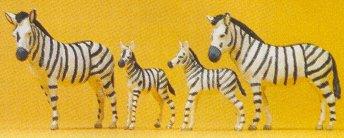 Preiser 20387 - Zebras                 4/