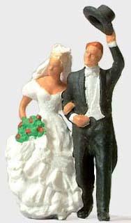Preiser 28091 - Wedding Couple