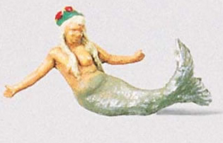Preiser 29014 - Mermaid w/Hair Adornment