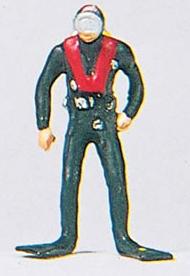 Preiser 29037 - Scuba Diver