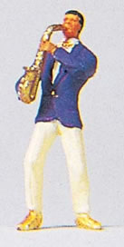 Preiser 29053 - Saxophone Musician
