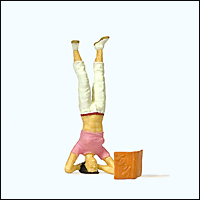 Preiser 29090 - Sports & Recreation -- Headstand