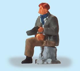 Preiser 29096 - Sitting Disabled Person