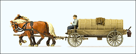 Preiser 30414 - Farm Equipment -- Liquid Manure Wagon
