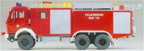 Preiser 31172 - MB 2632 pumper-tanker trk