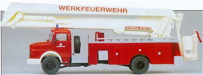 Preiser 31180 - MB LA1924 Snorkel truck