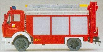 Preiser 31182 - MB 1017 rescue crane trk