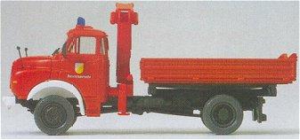 Preiser 31201 - MAN 11.136 tipper w/crn