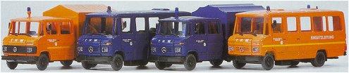 Preiser 31211 - MB 508 THW set         4/