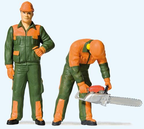 Preiser 44912 - Modern lumberjacks (1)