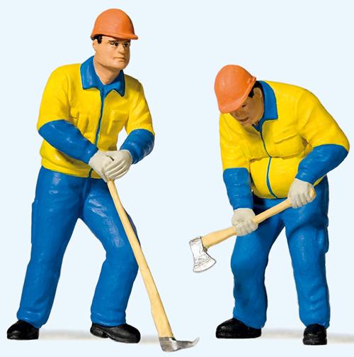 Preiser 44913 - Modern lumberjacks (2)