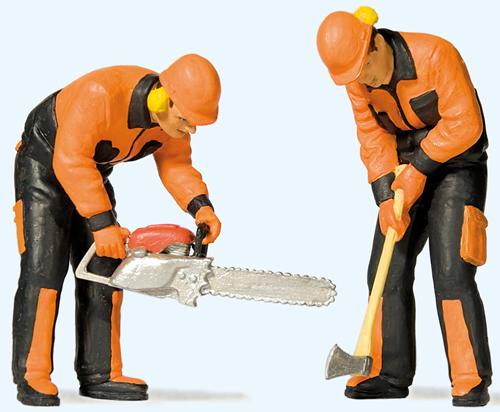 Preiser 44914 - Modern lumberjacks (3)