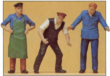 Preiser 45028 - Delivery men           3/