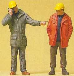 Preiser 45087 - Mdrn workmen standing  2/