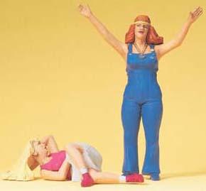 Preiser 45134 - Young Women
