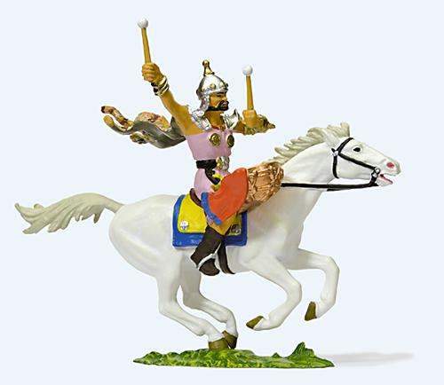 Preiser 50475 - Hunter on horseback and drummer