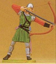 Preiser 50904 - Archer shooting down 1:25
