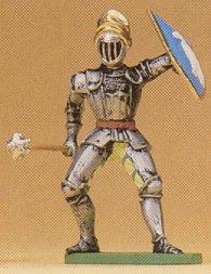 Preiser 52001 - Knight w/mrning star 1:25