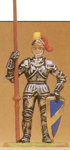 Preiser 52005 - Knight w/lance 1:25