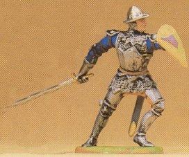 Preiser 52008 - Knight prryng w/swrd 1:25