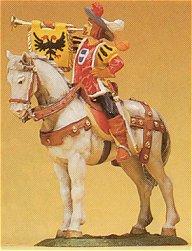Preiser 52352 - Trumpeter on horse 1:25